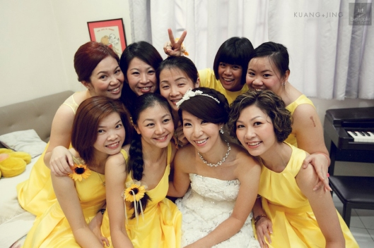 Angie's Yellow Wedding