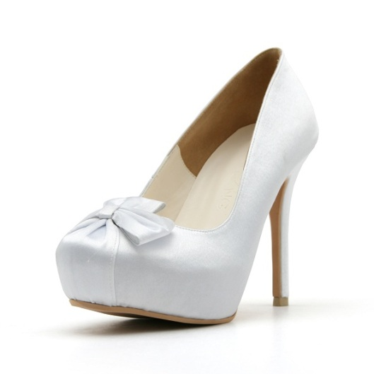 Closed Toe Wedding Pump