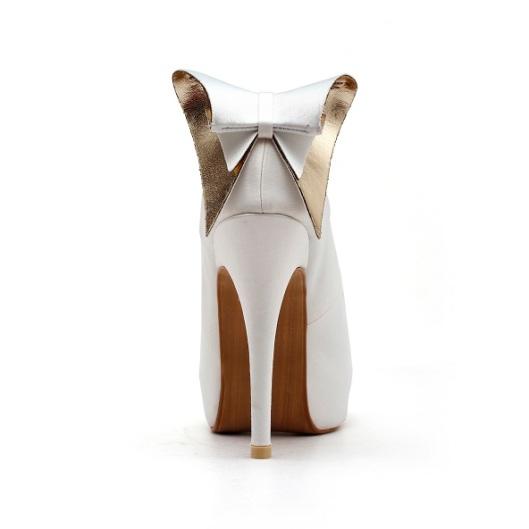 Back Bow Wedding Shoe