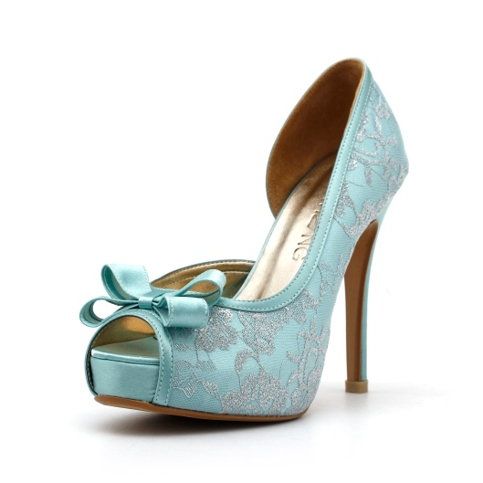 Mint Green Wedding Heels
