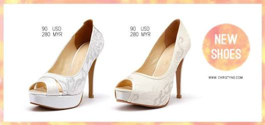 Bridal Footwear Fit for A Princess