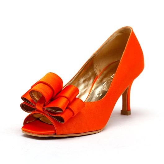 Orange Wedding Shoes