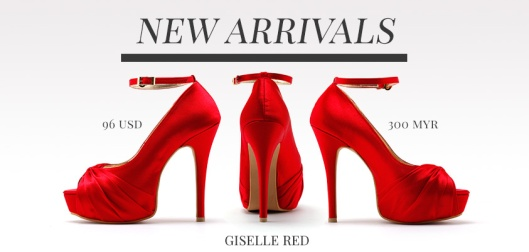 Red Wedding Heels Anyone?
