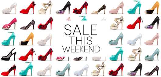 Wedding Shoe Sale Happening This Weekend at Shoe Heaven!