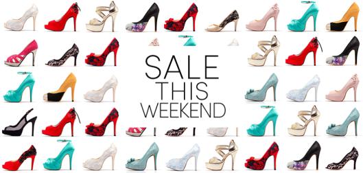 Wedding Shoe Sale Happening This Weekend at Shoe Heaven!