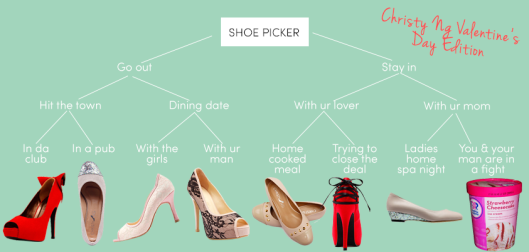Shoe Picker: V Day Edition
