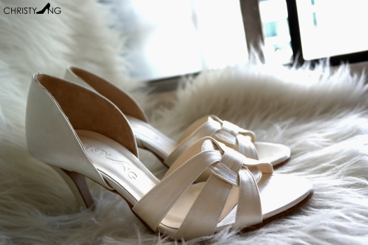 Designer Inspired Wedding Heels!