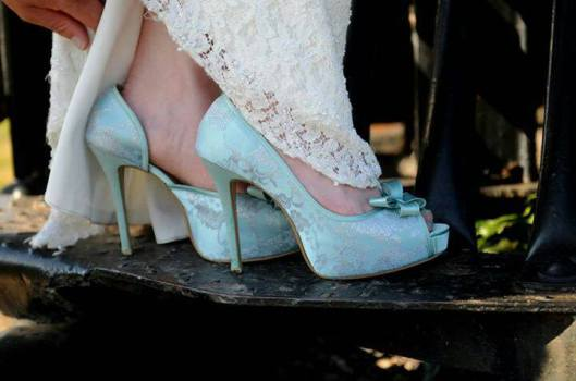 Something Blue Dream Wedding Shoes